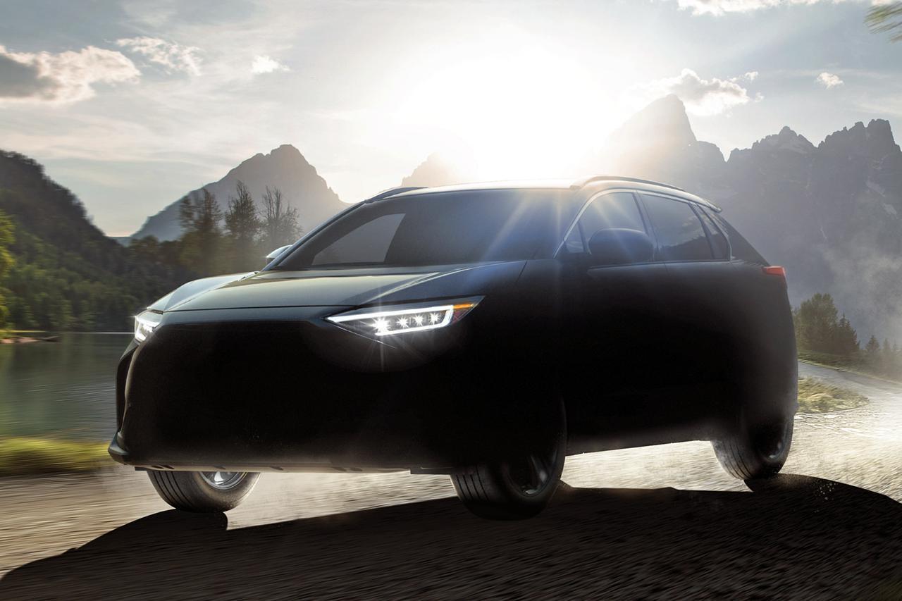 画像: 2022年に発売予定のSUVモデルのEV「ソルテラ」。