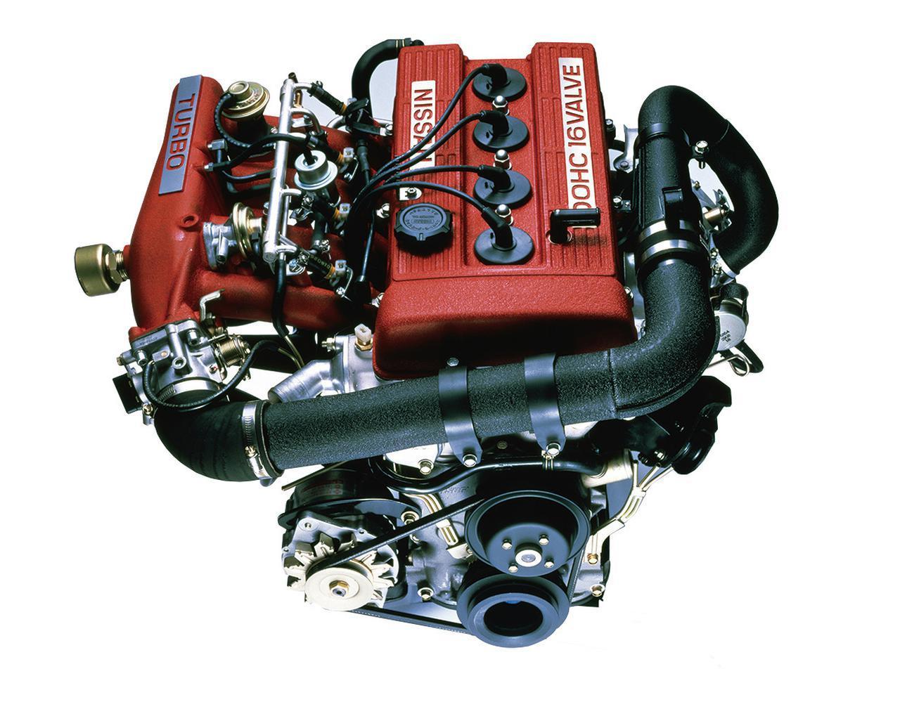 画像: 1気筒あたり4バルブのDOHCターボエンジンとなったFJ20E-Tの登場は、大きなインパクトを与えた。