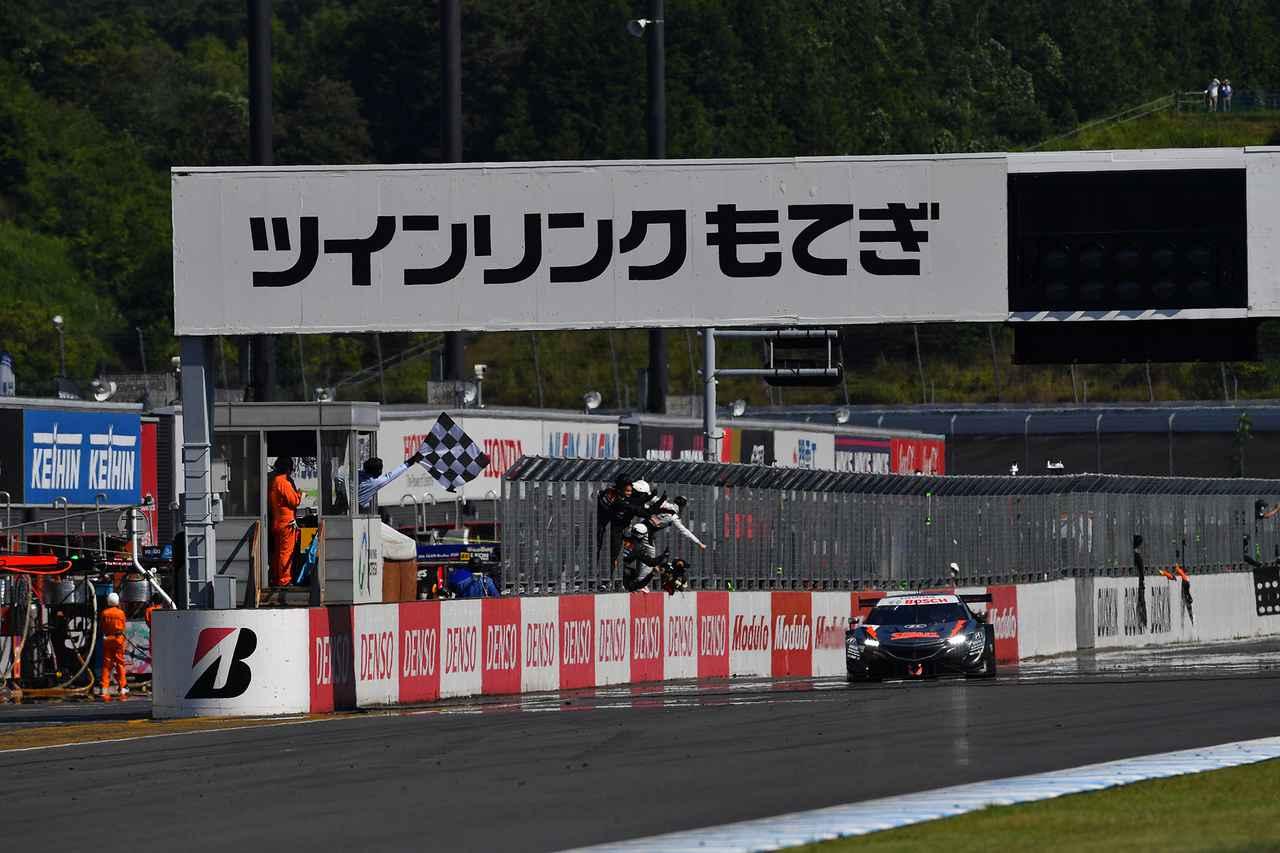 画像: 意外にも山本尚貴にとってはツインリンクもてぎでのスーパーGT初勝利。