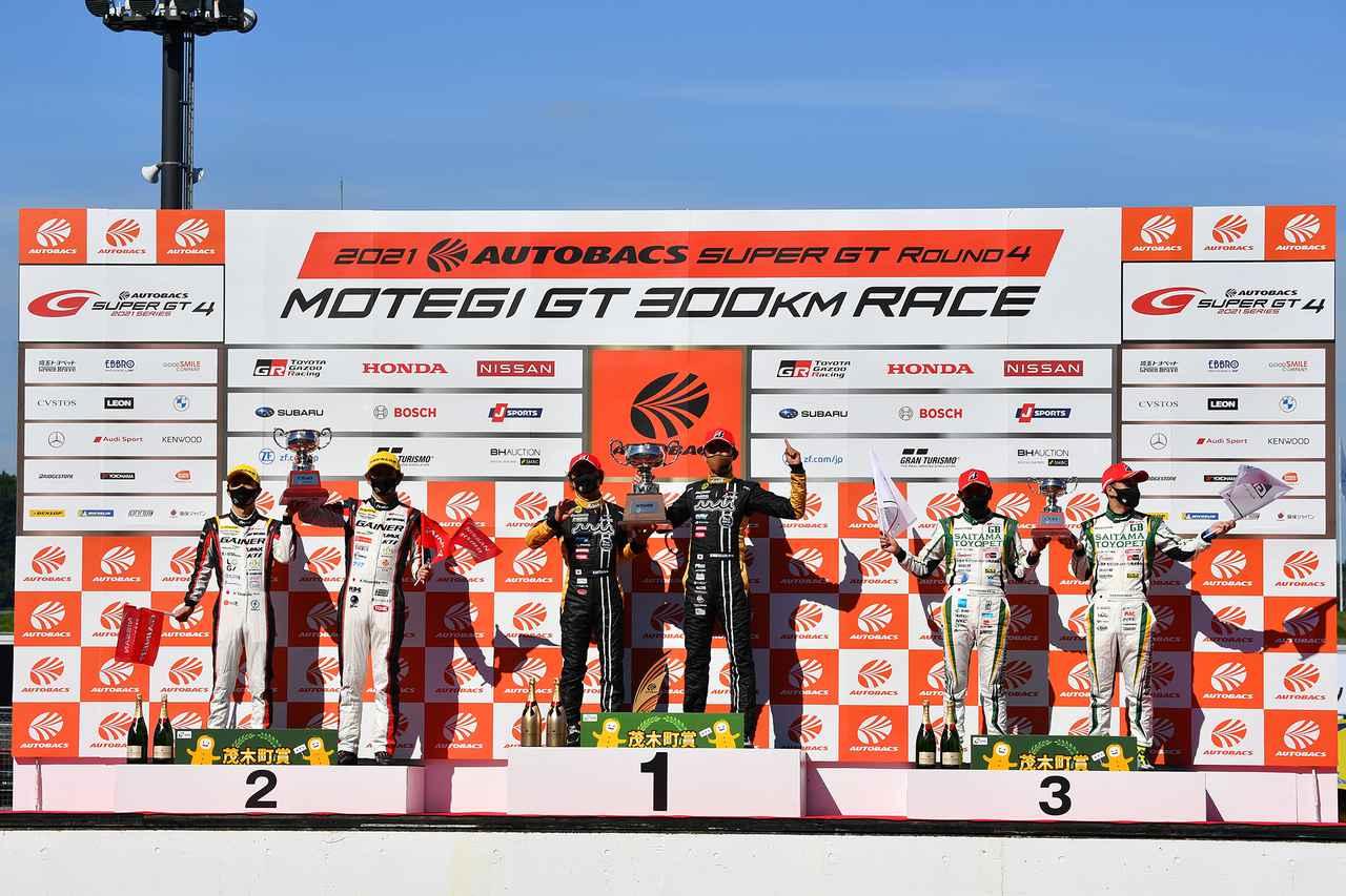 画像: 加藤寛規はロータスで2勝目、阪口良平はスーパーGT初勝利となる。