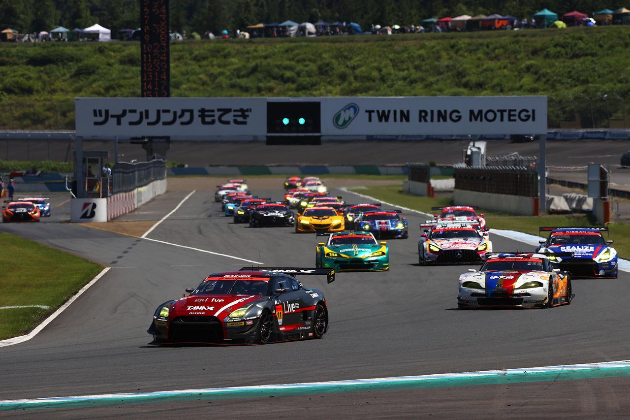 画像: GT-Rとスープラが上位にひしめく今シーズンのGT300クラス。