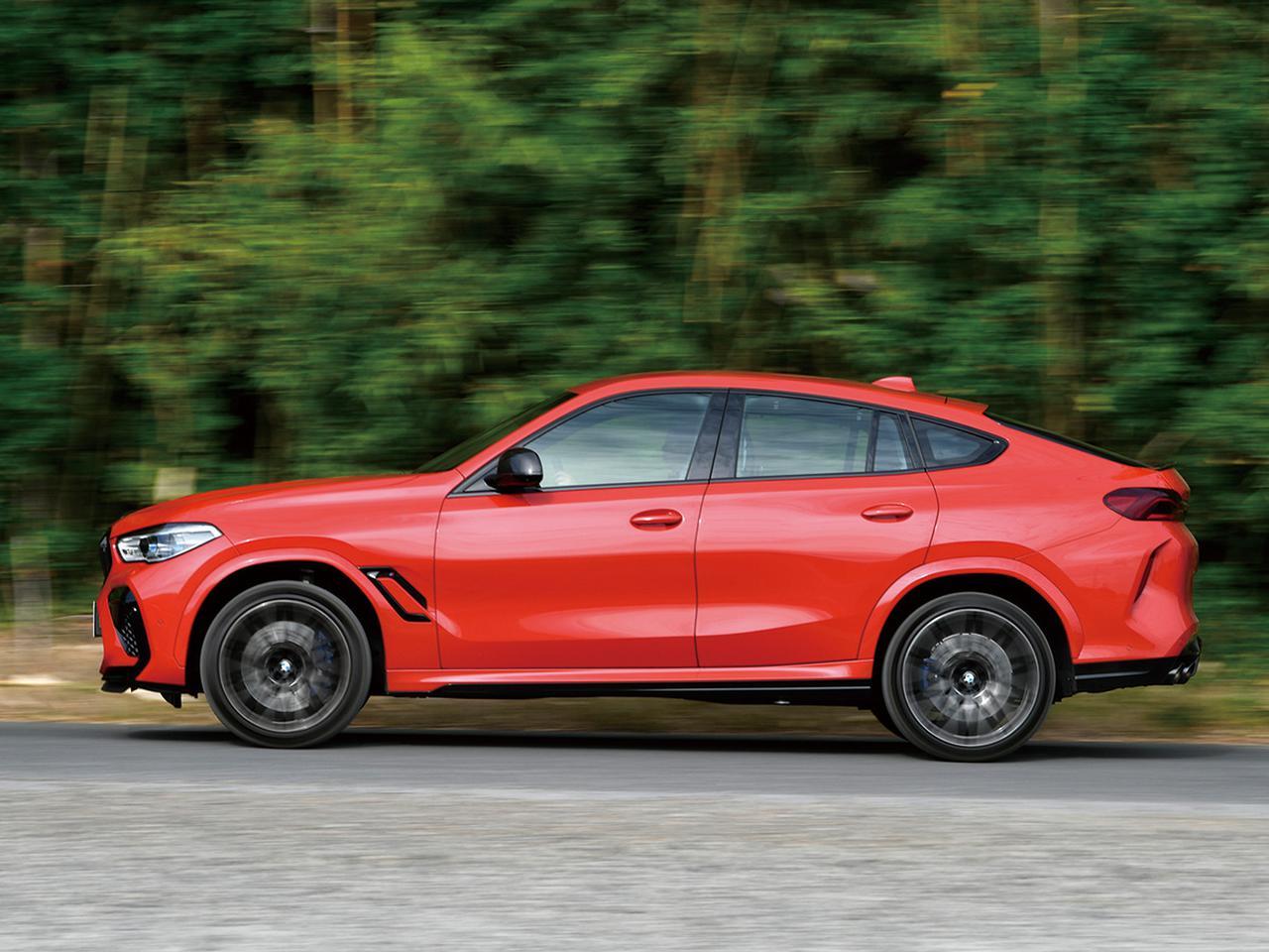 画像: BMW X6 Mコンペティション。荷重移動が素早くピタリと決まり、日本の狭いワインディングロードでも俊敏にノーズの向きを変えることができる。