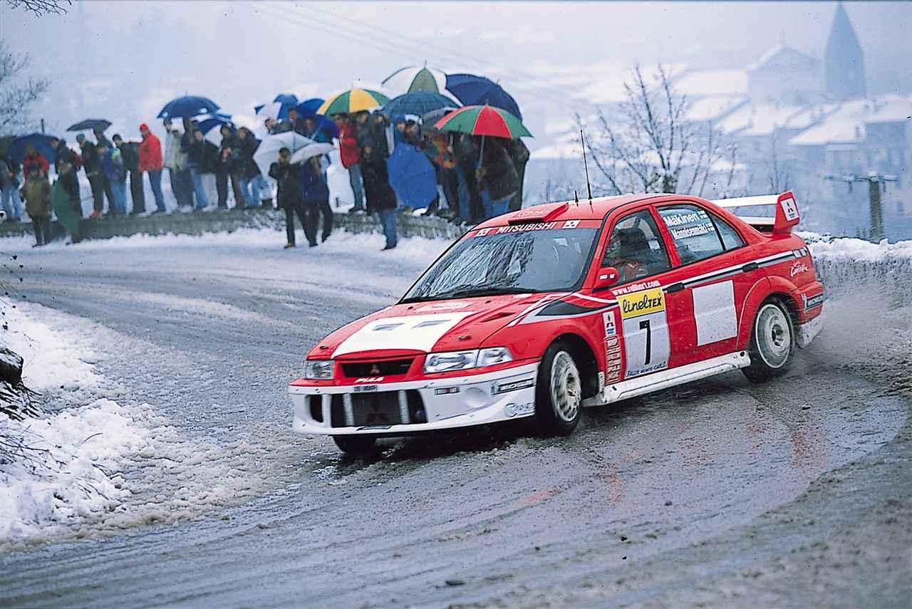 画像: 2001年 WRC参戦車ランサーエボリューション