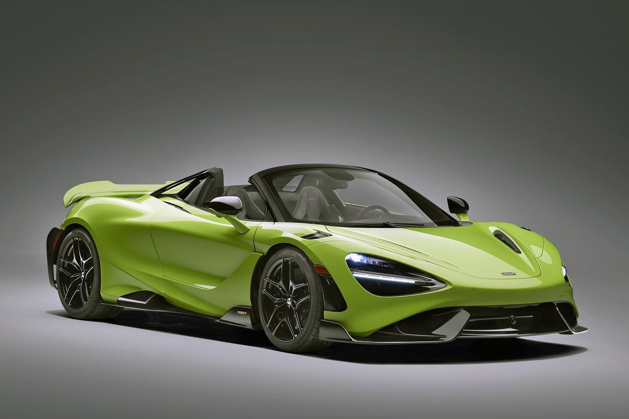 画像: 車高は765LTクーペよりわずかに高いが、全長と全幅は変わらない。ホイールベースも同じ。