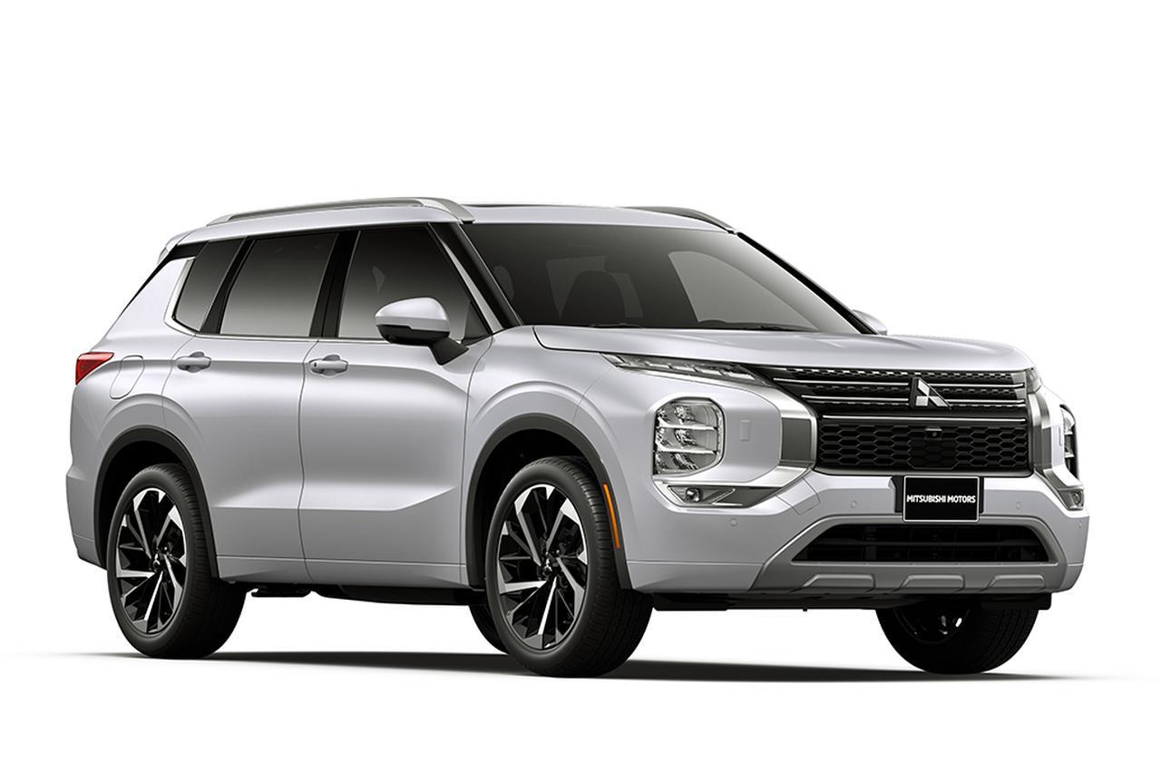 画像: 北米仕様エンジン車の新型アウトランダー。日本仕様の外観も大きくは変わらないはずだ。