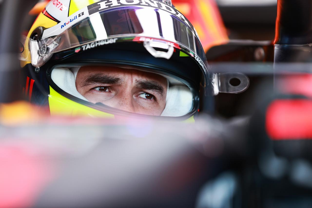 画像: Q3の最後のアタックを行えなまま、予選を4番手で終えたレッドブル・ホンダのセルジオ・ペレス。