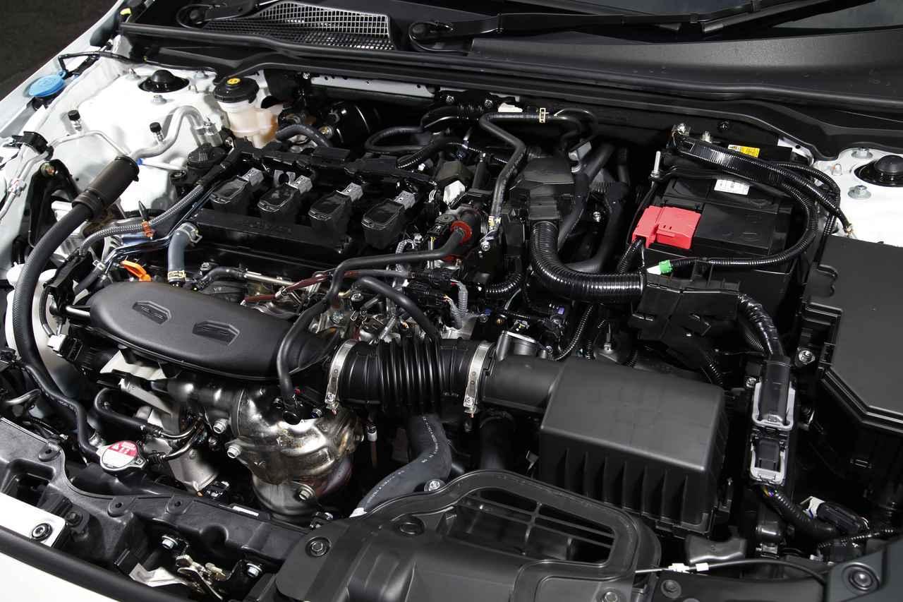 画像: 1.5Lの直4 VTECターボエンジンは最高出力182ps/6000rpmと最大トルク240Nm/1700-4500rpmを発生。