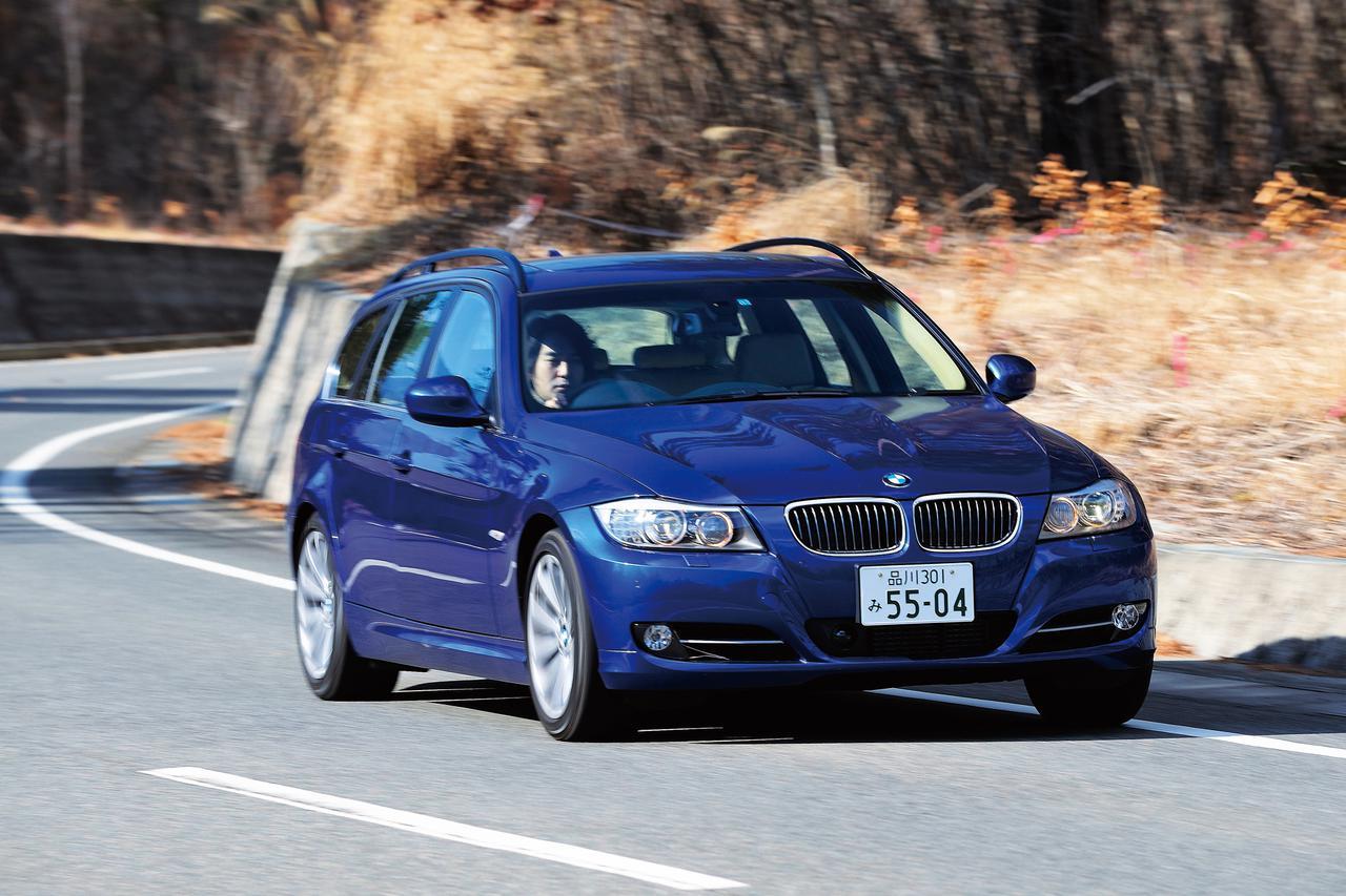 画像: BMW 335iツーリング。セダンとともに、2008年11月にマイナーチェンジされた。