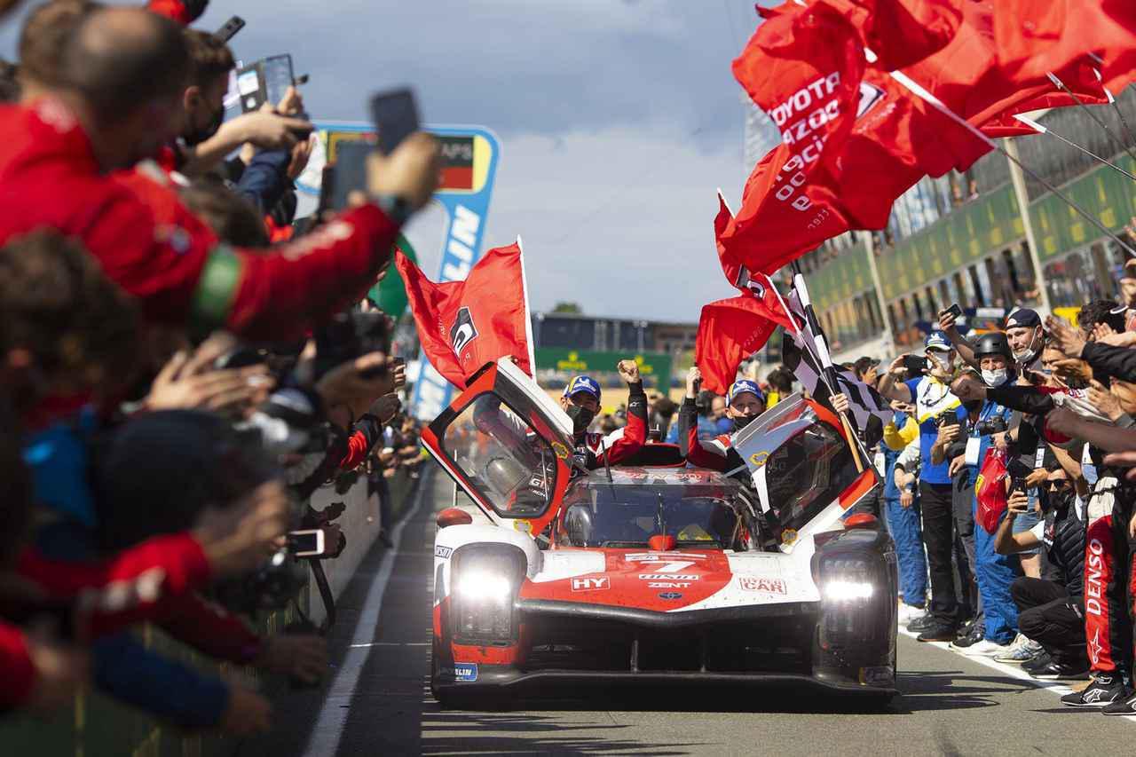 画像: 4連勝を飾ったトヨタGR010ハイブリッド。次戦はバーレーン・インターナショナル・サーキットで行われる。