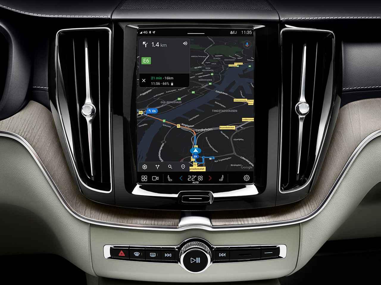 画像: グーグルマップによる、よりスムーズなナビゲーションが快適なドライブをアシストしてくれる。