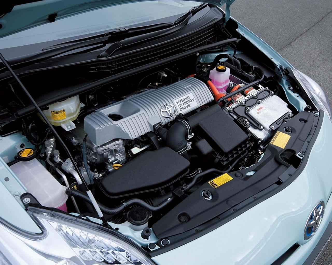 画像: 排気量を1.5Lから1.8Lへと拡大することで高速走行時のエンジン回転数を15%抑えることができたという。