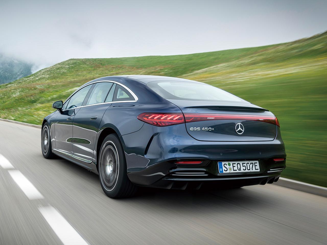 画像: エアマティックサスペンションには速度に応じて自動的に車高を調整する機能もある。