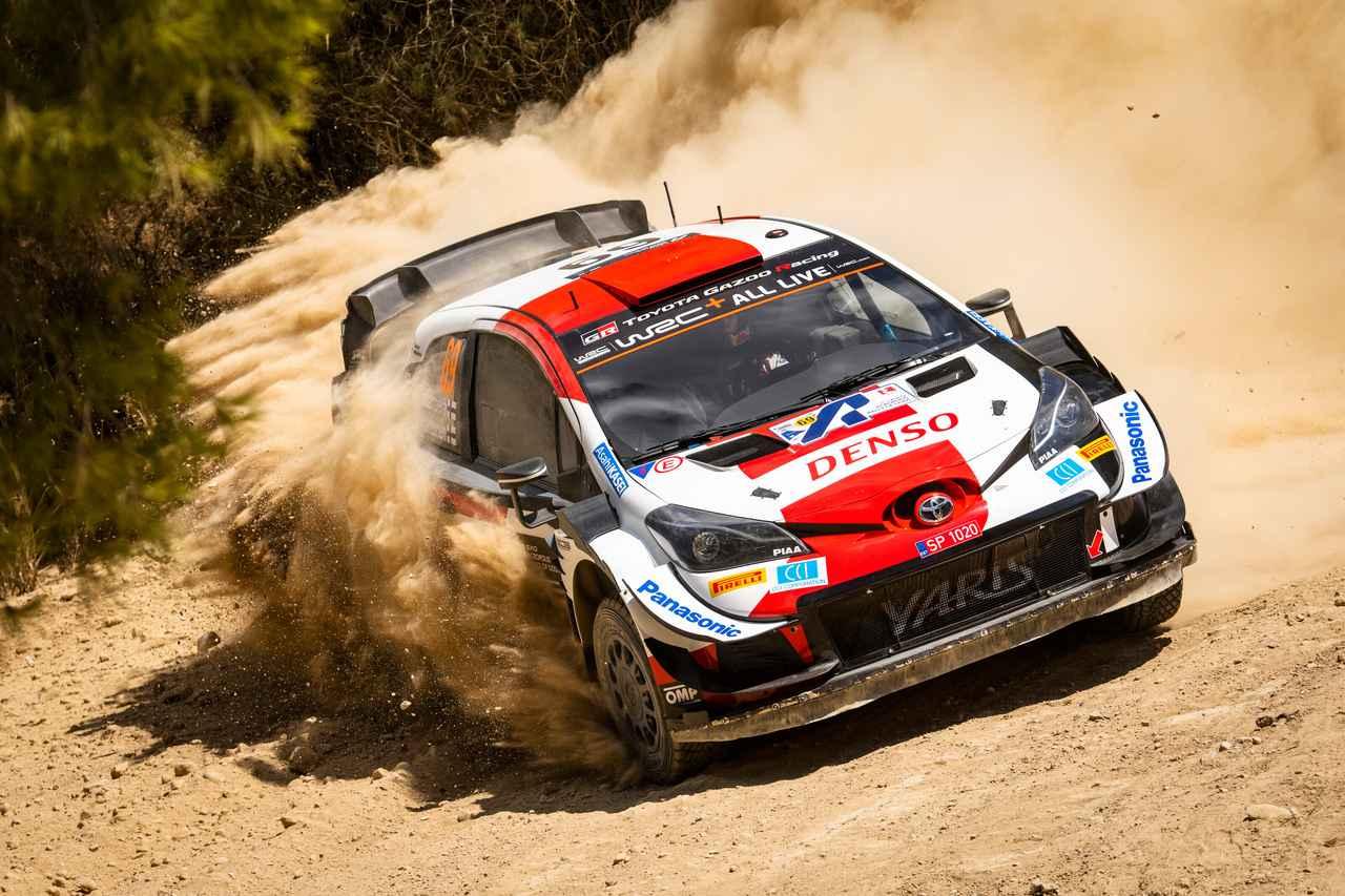 画像: WRC第9戦アクロポリス・ラリー・ギリシャを制したトヨタのカッレ・ロバンペラ。第7戦エストニアでWRC史上最年少優勝記録を更新した20歳の「フライング・フィン」は、本格的なグラベルのアクロポリスでも圧巻のスピードを披露した。