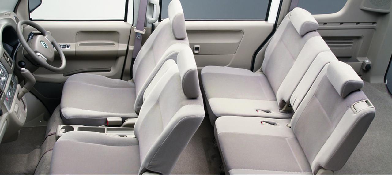 画像: スクラムワゴン PZ TURBO。クラストップレベルの広大で使いやすい空間が魅力。