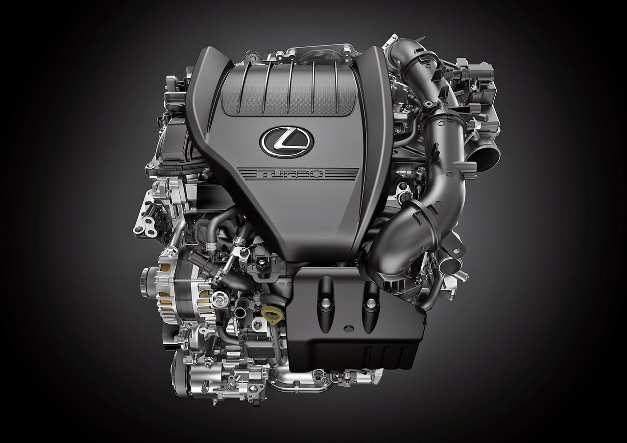 画像: 新開発の2.4L 直4ターボエンジン。