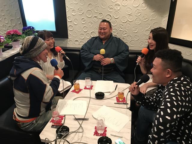 画像: 4月2日放送分のゲスト、旭日松関。 とってもお茶目な方でした。とても和ませていただきました。
