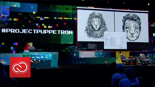 画像: #ProjectPuppetron: Adobe MAX 2017 (Sneak Peeks) | Adobe Creative Cloud youtu.be