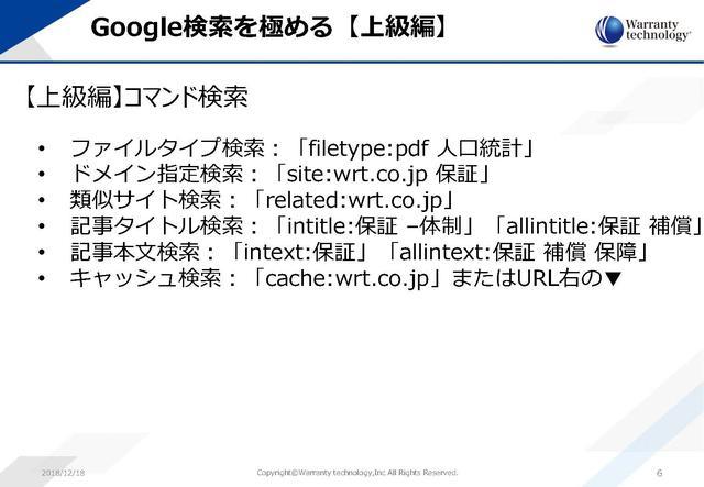 画像3: 仕事力 ≒Google検索能力:Google検索の本当使い方