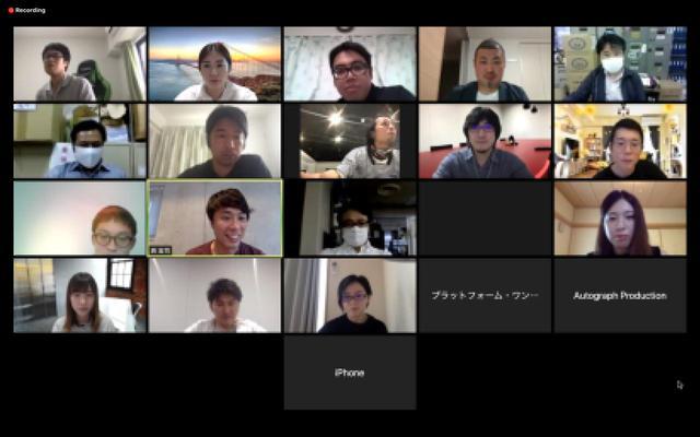 画像: 現在Workshopはオンライン開催を実施しています。気軽に参加できますので、興味のある方はぜひご参加くださいませ。