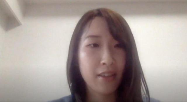 画像: ここからはノアドット株式会社の兼子春菜さんにバトンタッチ。実際の運用例を見せていただきました。
