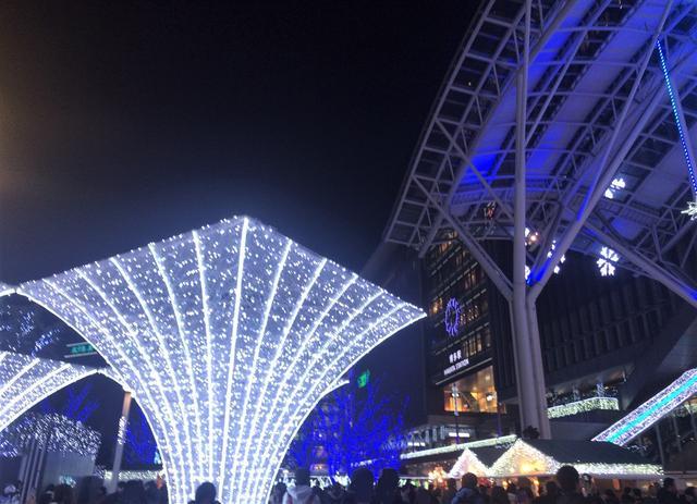 画像2: MCMセンター博多近辺のイルミネーション特集~光の街・博多~