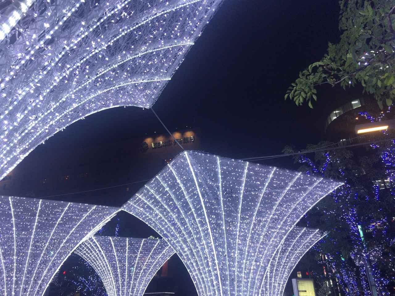 画像3: MCMセンター博多近辺のイルミネーション特集~光の街・博多~