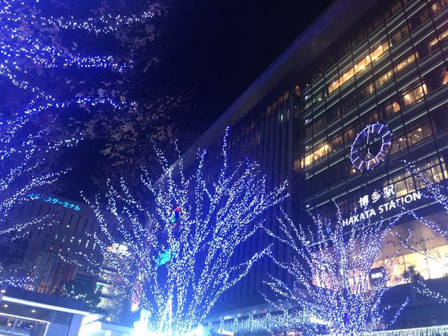 画像5: MCMセンター博多近辺のイルミネーション特集~光の街・博多~