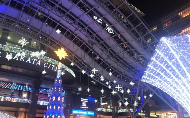 画像4: MCMセンター博多近辺のイルミネーション特集~光の街・博多~