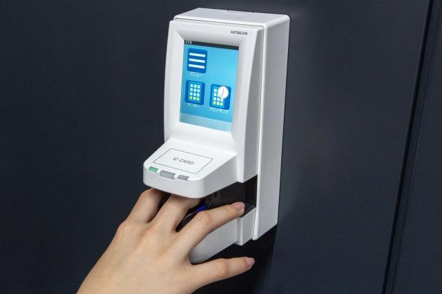 画像: 指紋認証などのデジタルテクノロジーを積極的に導入