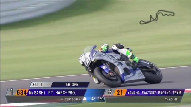 画像: そして第2セクター計測時では、0.859秒と更にタイムを圧縮! www.youtube.com