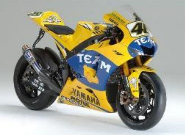 画像: YAMAHA MOTOR CO.,LTDヤマハ発動機株式会社 ヤマハ YZR-M1(2006年) 【ライダー:バレンティーノ・ロッシ】 MotoGP™クラスシリーズ2位 日本GP(ツインリンクもてぎ)2位