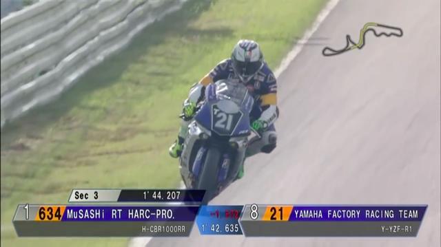 画像: 西コースのセクター3、130R地点では、1.5秒まで到達! 夢の予選タイム2分6秒台も現実味を帯びてきます! www.youtube.com