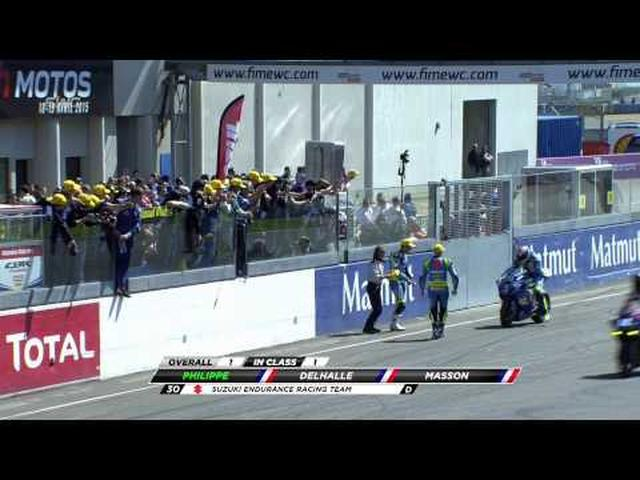 画像: Le Mans 2015 last hour highlights youtu.be