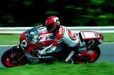 画像: 1986年はマイク・ボールドウィンと組んで参戦。「耐久レースを走るのは今年が最後」と宣言して望んだ決勝レースでしたが・・・。 オートバイ/モーターマガジン社