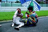 画像: 宮城光(左)と八代俊二は、前年の1983年の鈴鹿4耐で優勝したフレッシュコンビでした。 オートバイ/モーターマガジン社