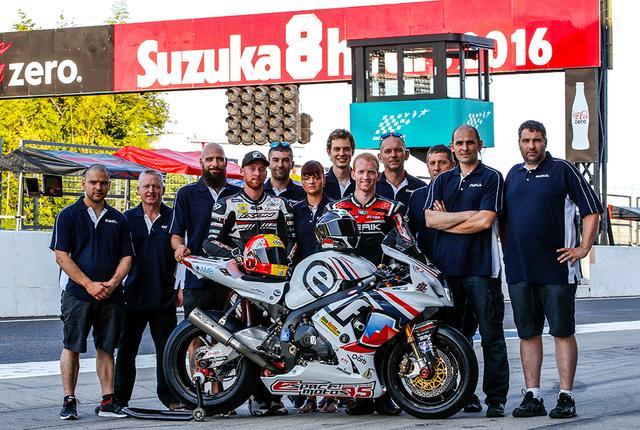 画像: Team R2CLは、世界耐久選手権で活動するフランスをベースにするチーム。マシンはスズキGSX-R1000です。なお昨年の鈴鹿8耐(写真)では決勝12位という記録を残しています。 www.r2cl.com