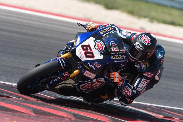 画像: SBK(世界スーパーバイク選手権)でヤマハに今季から加入したマイケル・ファン・デル・マーク。現在はランキング6位につけています。 www.yamaha-racing.com