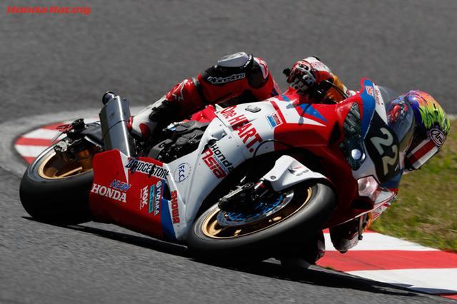 画像: 昨年、ホンダ勢で最高位=8位となったSatu HATI. Honda Team AsiaのホンダCBR1000RR。もちろん鈴鹿サーキットをホームとするホンダとしては、第40回記念大会となる今年は、「優勝」以外の2文字はいらない・・・という心境でしょう。 www.honda.co.jp
