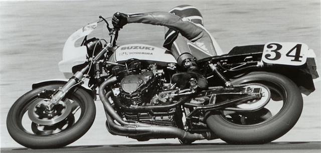 画像: AMAスーパーバイクで、ヨシムラのスズキGS1000を駆るW.クーリー。後に世界ロードレースGP500ccクラス王者となるエディ・ローソンやフレディ・スペンサーを破ってのAMAタイトル獲得は、非常に価値のあるものです。 www.motorcyclemuseum.org