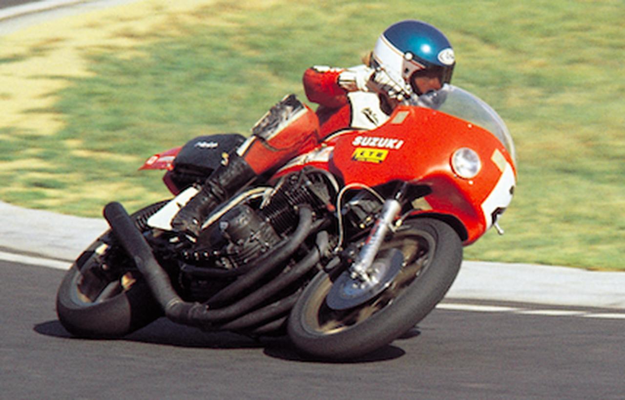 画像: 1978年、ヨシムラのGS1000で勝利に邁進するW.クーリー。 ©︎オートバイ/モーターマガジン社