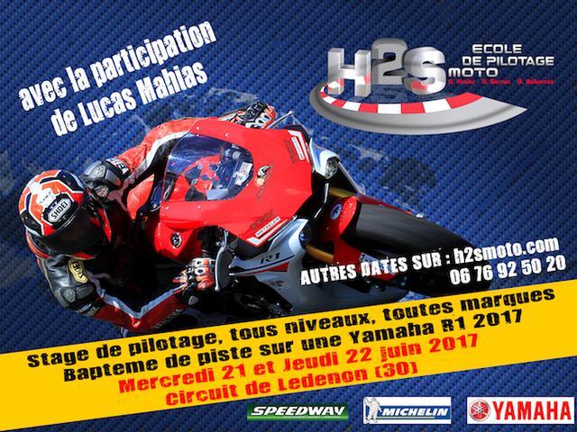 画像: Stage pilotage moto sur circuit H2S - Dominique Sarron - Accueil H2S