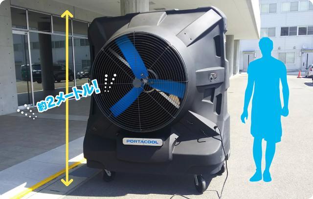 画像: どうしても暑くなったら10ヶ所に設置されたミストエリアで涼もう!