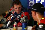 画像: 先日の合同テストでのS.ブラドル。SBK(世界スーパーバイク選手権)で苦戦中の憂さを、鈴鹿8耐で晴らしてくれることが期待されたのですが・・・。 www.honda.co.jp
