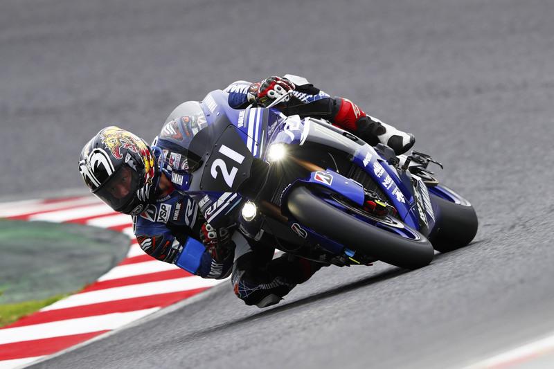 画像: 路面温度がそんなに高くない時間帯に、ズバっと6秒台をマークした中須賀克行(ヤマハ)。チームメイトのA.ローズも6秒台を記録し、盤石の強さを感じさせました。 race.yamaha-motor.co.jp