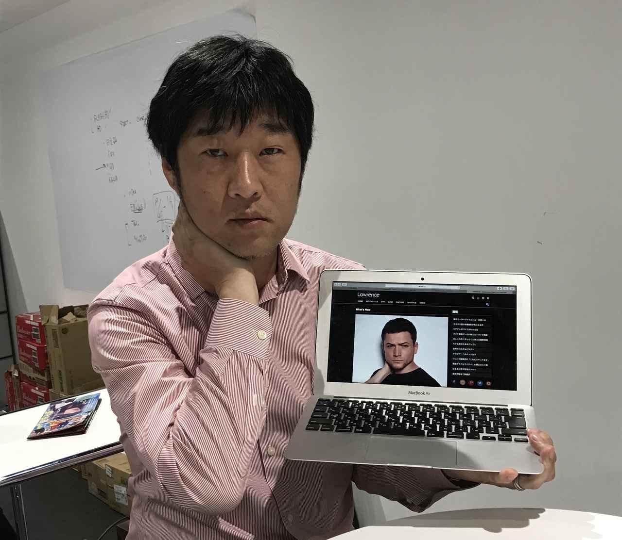 画像: 宮崎健太郎氏: バイク、クルマはもちろん、機内誌やファッション雑誌など、幅広く活躍するフリーライター。困ったときに質問すると大抵のことは教えてくれる、歩くWikipedia。