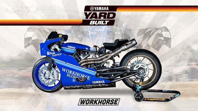 画像: Yamaha Yard Built – XSR700 by Workhorse to race the Sultans of Sprint youtu.be