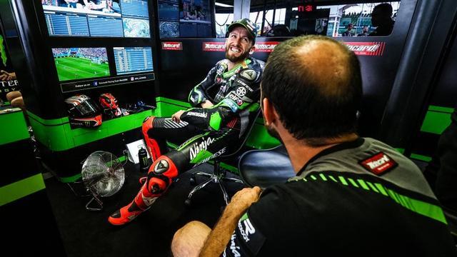 画像: 今年限りでカワサキを去ることになったT.サイクス。来シーズンはヤマハ系チームに移籍するのでは? というウワサも飛び交っています。 www.worldsbk.com