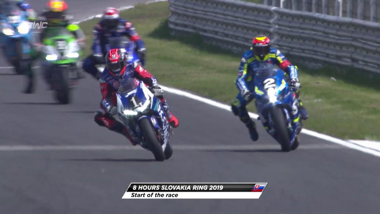 画像: 8H of Slovakia Ring - Start of the race youtu.be
