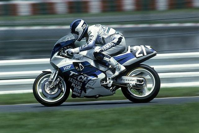 画像: 1989年は平忠彦/J.コシンスキー組で参戦! トップのD.サロン/A.ビエラ組のホンダを追うものの、マシントラブルでリタイア(45位)に終わりました・・・。 samurai-bikers.blogspot.com