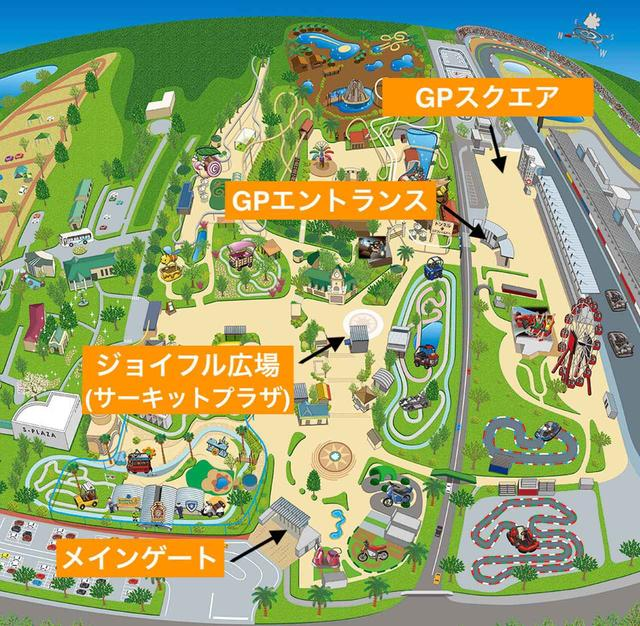 画像: 全体マップ www.suzukacircuit.jp
